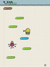 Doodle Jump J2ME Watch out for the baddies