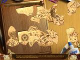 Kate Arrow: Deserted Wood Windows Jigsaw puzzle with map pieces