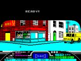 Street Hawk ZX Spectrum Get enough bad guys cars and the chase phase is over. Now it's kill the bad guys as they flee a robbery