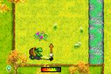Over the Hedge: Hammy Goes Nuts! Game Boy Advance Hitting the ball.