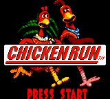 Chicken Run Game Boy Color Title Screen