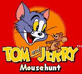 Tom and Jerry: Mouse Hunt Game Boy Color Title Screen