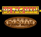 Ms. Pac-Man: Special Color Edition Game Boy Color Game selection