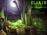 Elixir of Immortality Windows Main menu