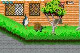 Madagascar: Operation Penguin Game Boy Advance This porcupine is really tough and isn't bothered by our attacks.