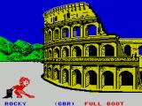 Sports-A-Roni ZX Spectrum Boot Throwing : Full Boot selected. The default  is 'Empty Boot'
