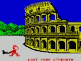 Sports-A-Roni ZX Spectrum Boot Throwing : Try for too long to get to max power and you'll tire