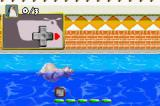 Madagascar Game Boy Advance Tutorial: Gloria the hippo can swim