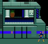 X-Men Game Gear Selecting level and character