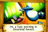 Rayman: Hoodlum's Revenge Game Boy Advance Intro: While Rayman is still sleeping, Globox is lured away.