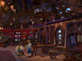 Escape from Monkey Island Windows Guybrush receives a souvenir at Planet Threepwood, a tourist attraction on Jambalaya Island