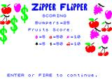 Zipper Flipper ZX Spectrum Scoring