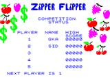 Zipper Flipper ZX Spectrum Competition play. 