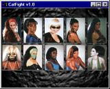 CatFight: The Ultimate Female Fighting Game Windows Character selection