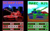 Fire Power DOS Tank selection for a two player game (EGA)