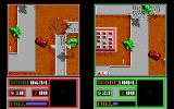 Fire Power DOS Hey, I can see you! A two player game in progress (EGA)
