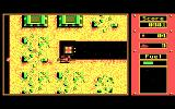 Fire Power DOS Destroy the enemy's prisons and rescue the POW's. After they've entered your tank return them to your hospital for extra lives [single-player] or mines [multi-player] (CGA)