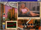 Digital Strip Poker featuring Neriah Davis Windows Welcome to the game (Rose top round 1)