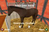 Horsez Game Boy Advance Choosing a horse for a new game