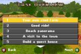 Horsez Game Boy Advance Task overview