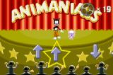"Animaniacs: Lights, Camera, Action! Game Boy Advance Play the overused mini game ""hit the button displayed in the marked area"" game to earn additional film reels."