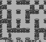 Atomic Punk Game Boy This enemy can destroy blocks on this own.
