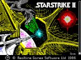 Starstrike II ZX Spectrum A rather nice load screen
