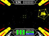 Starstrike II ZX Spectrum Here we are. There's a big yellow pentagram thing floating around here...