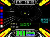 Starstrike II ZX Spectrum A map of this system. I'm in the outer orbit with the support module. I must select a target planet...