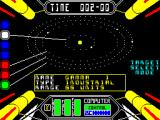 Starstrike II ZX Spectrum .. enemy planets are red,