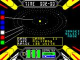 Starstrike II ZX Spectrum targeting Gamma 11 - a military planet
