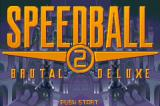 Speedball 2: Brutal Deluxe Game Boy Advance Title screen