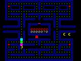 Gobble A Ghost ZX Spectrum The game starts with a rolling demo in which the gobbler chomps through seven dots and waits for the ghosts to come for him. Even I can play better than that!