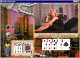 Digital Strip Poker featuring Neriah Davis Windows Neriah wins again (Black dress round 1)