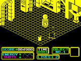 Bomb Scare ZX Spectrum There are aliens. Some can be run over, others blow up and destroy ARNOLD