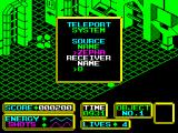 Bomb Scare ZX Spectrum Teleport encountered but I don't have the destination code yet