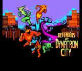 Defenders of Dynatron City NES Title screen