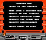 Defenders of Dynatron City NES Mission clear
