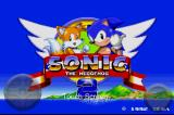 Sonic the Hedgehog 2 iPhone Main title screen.