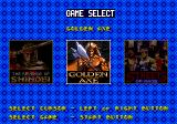 6-PAK Genesis Title select interface 2