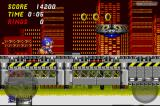 Sonic the Hedgehog 2 iPhone Stage 2: Chemical Plant Zone.