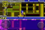 Sonic the Hedgehog 2 iPhone Riding across a platform.