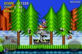 Sonic the Hedgehog 2 iPhone Rescuing more animal creatures from the clutches of Dr. Robotnik.