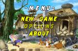 Chicken Shoot 2 Game Boy Advance Main menu