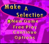 Diva Starz: Mall Mania Game Boy Color Main Menu