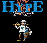 Hype: The Time Quest Game Boy Color Title Screen