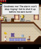 Wallace & Gromit Adventures J2ME Wallace needs to fix his alarm