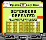Defenders of Dynatron City NES Oh no, defeated...