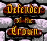 Defender of the Crown NES Title screen