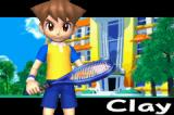 Mario Tennis: Power Tour Game Boy Advance The first main character, Clay